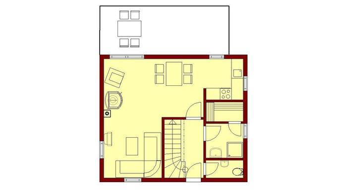 gro es blockhaus blockh user stubbenfelde. Black Bedroom Furniture Sets. Home Design Ideas